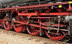 Technik die begeistert,  Antrieb der 41 018, von der Baureihe...