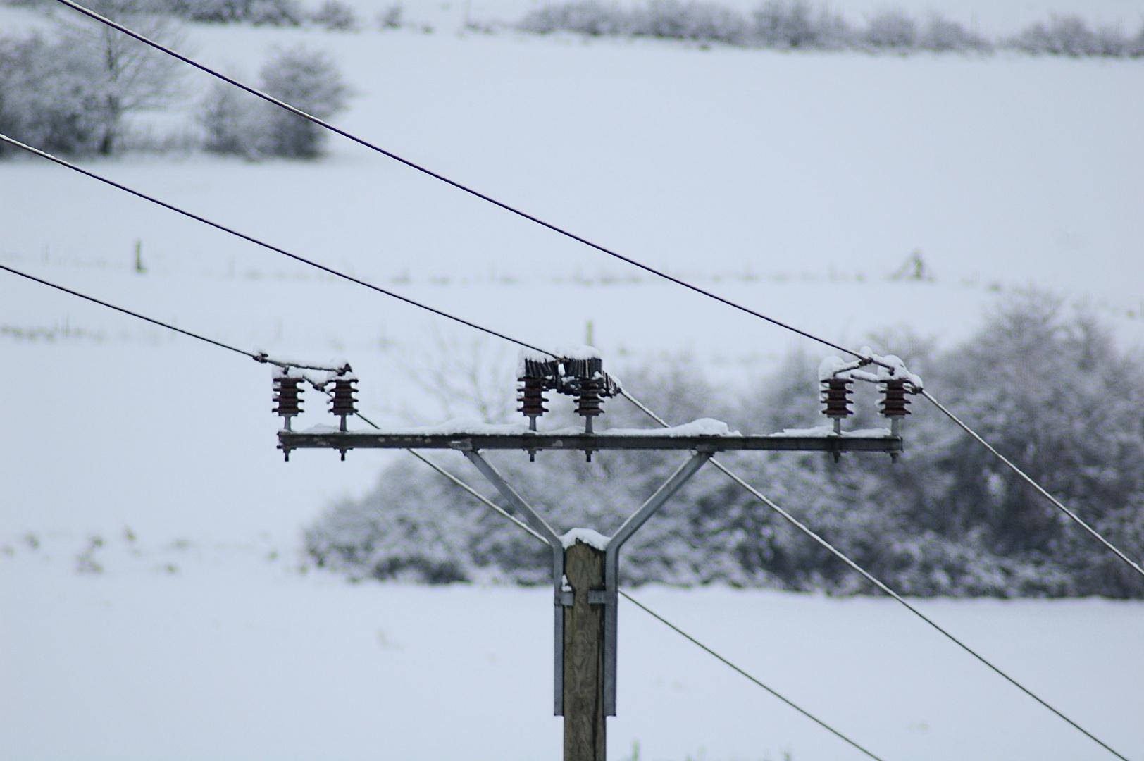 Technik trifft Winter