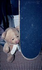 Teddy smith et son skateboard ;D