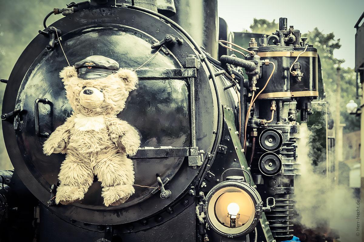 Teddybärentag bei der Selfkantbahn