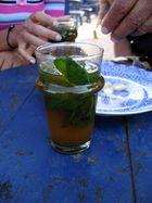 Tee gibt es überall zu trinken....