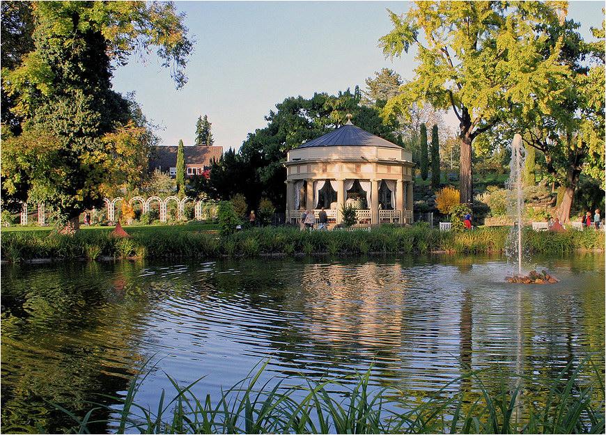 Teehaus im blühenden Barock ...