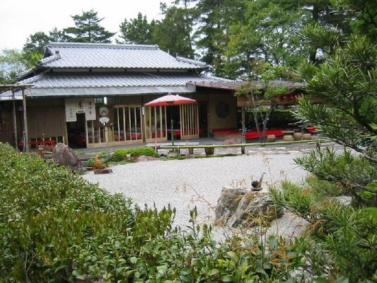 Teehaus in Kyoto