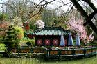 Teehaus mit Pavilion