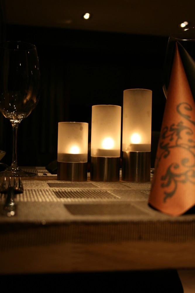 Teelicht im Restaurant Linde,Büttikon