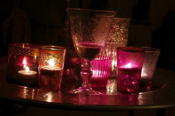 Teelichter - orientalischer Abend
