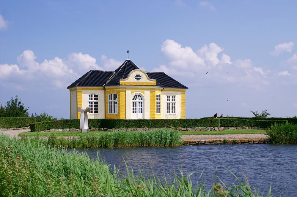 Teepavillon am Schloss Valdemar/DK