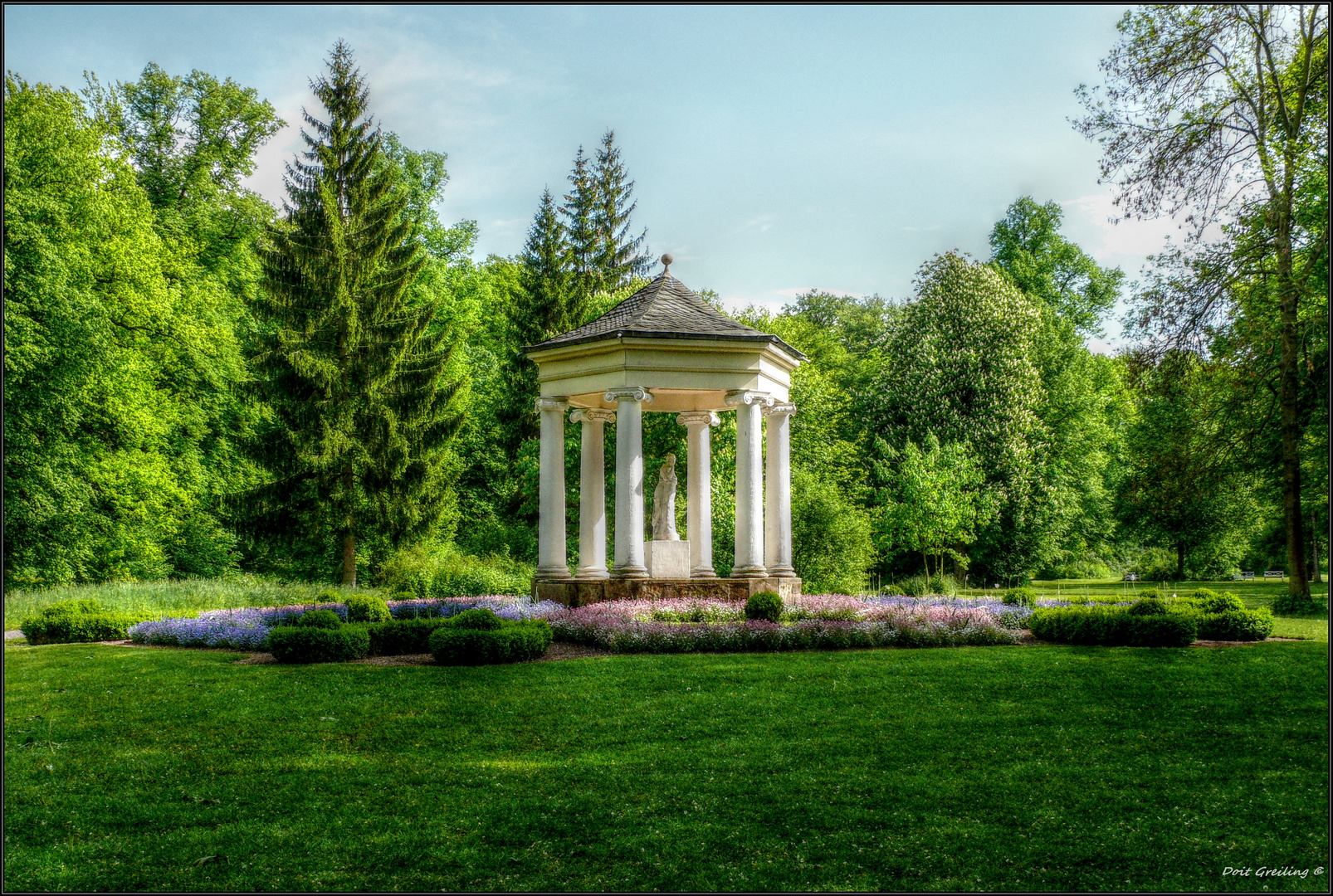 Teepavillon im Schlosspark Tiefurt