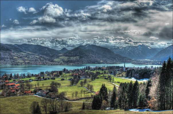 Tegernsee HDR Tonemapping