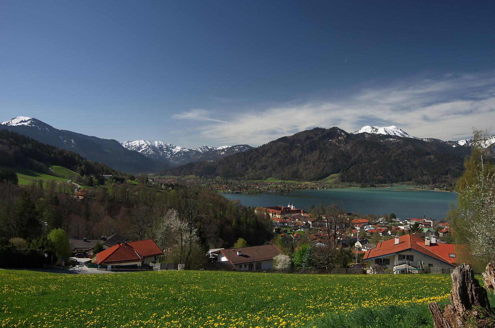 Tegernsee im Frühling