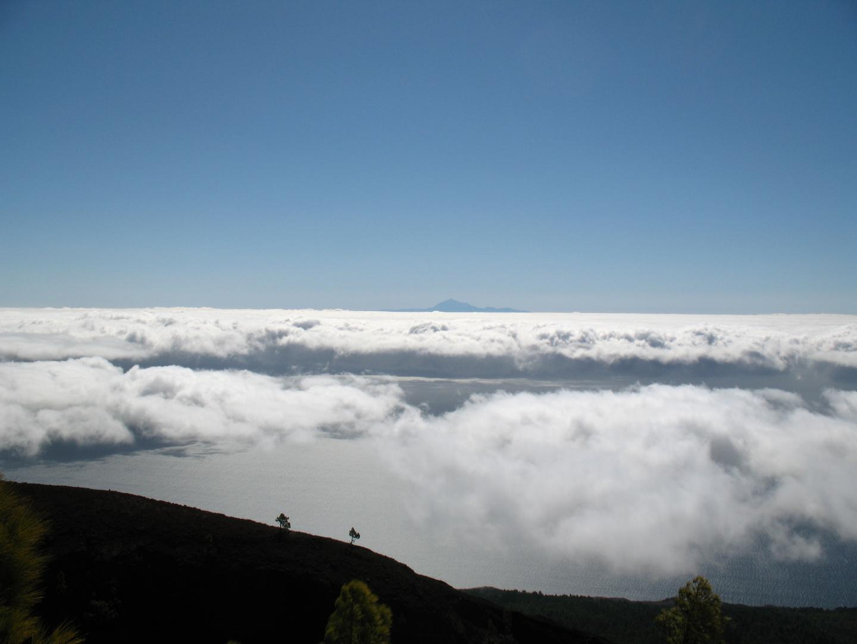 Teide gesehen von La Palma