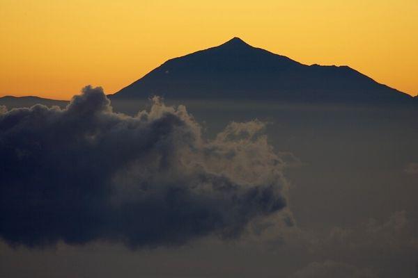 Teide im Morgenlicht