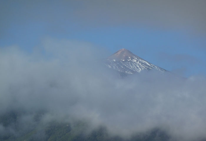Teide im Nebel