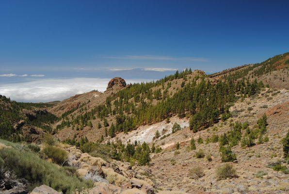 Teide Nationalpark - Blick nach La Gomera