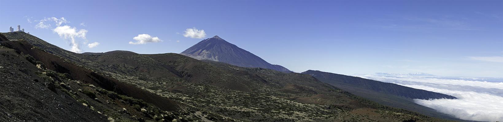 Teide und Observatorien
