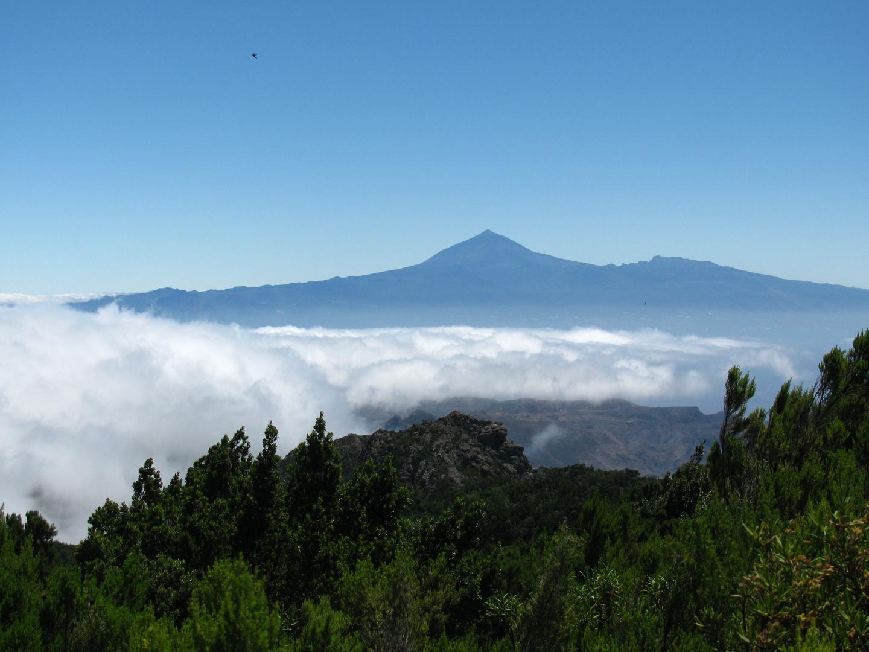 Teide von La Gomera aus gesehen