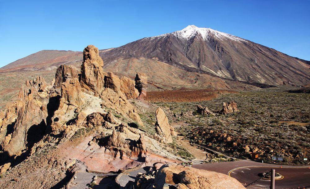 Teide Vulkanlandschaft