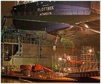 """Teil – 2 B -- : Maritime Arbeitswelten in Bremerhaven am 22.10.2012 """"Faszination Schiffreparatur"""""""