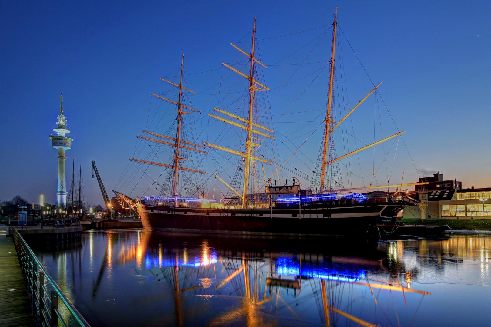 Teil --4--: Havenwelten Bremerhaven am 2.2.2012