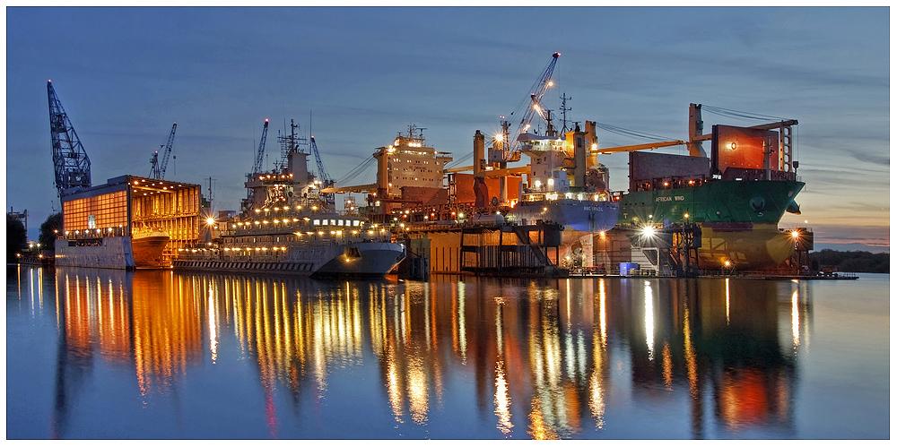"""Teil -- 8 -- : Maritime Arbeitswelten in Bremerhaven am 23.9.2013 """"Vollbeschäftigung"""""""