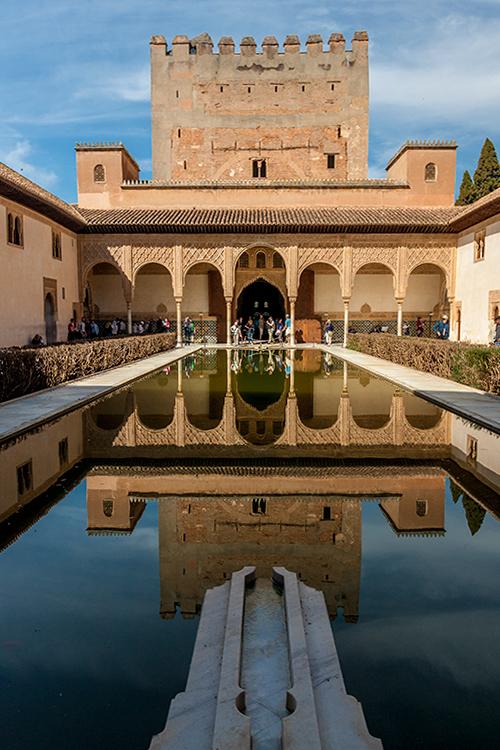 Teil der Alhambra -1-
