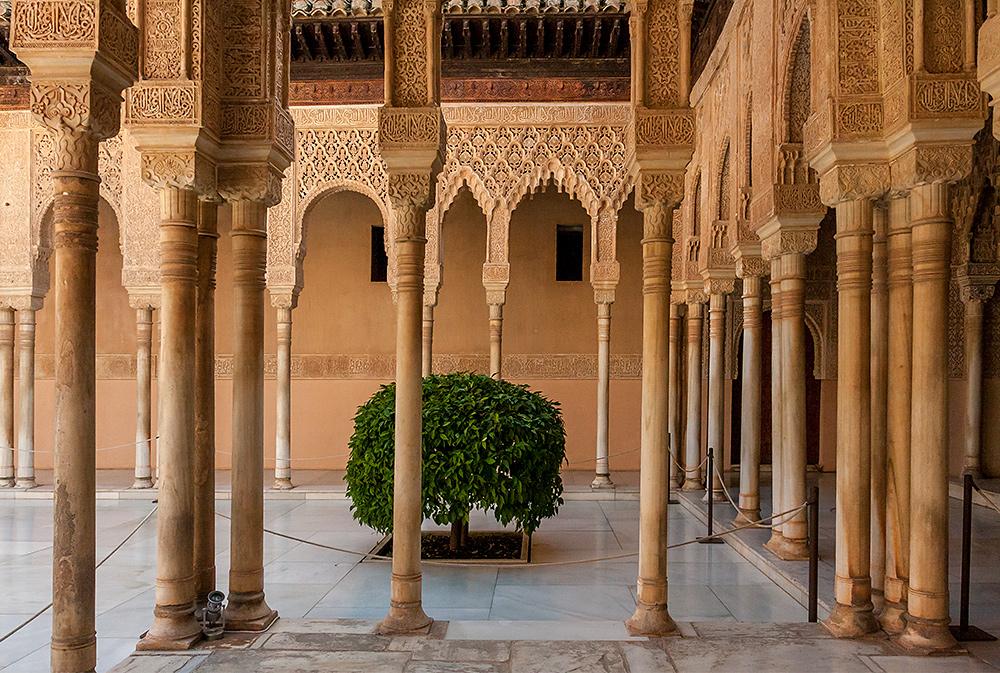 Teil der Alhambra -4-