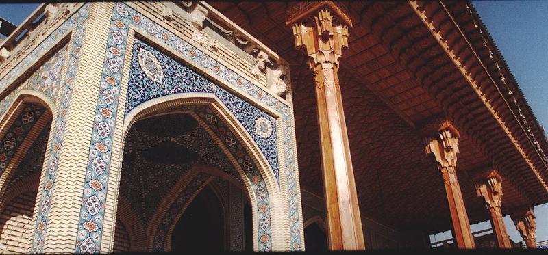 Teil einer Moschee in Shiraz/Iran