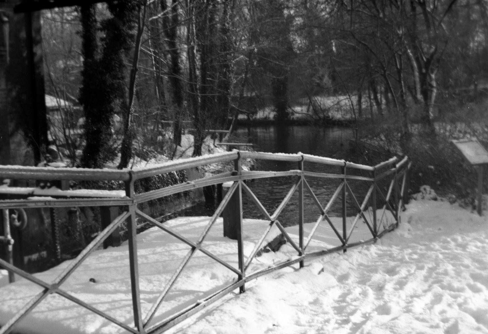 Teil einer Wassermühle