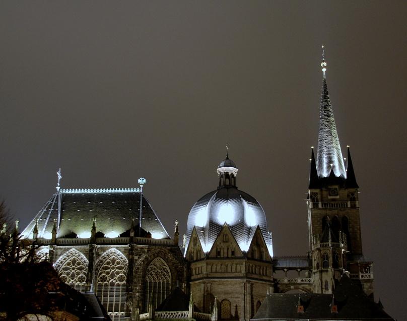 Teilansicht Aachener Dom