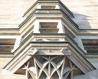 Teilansicht des Duisburger Rathauses