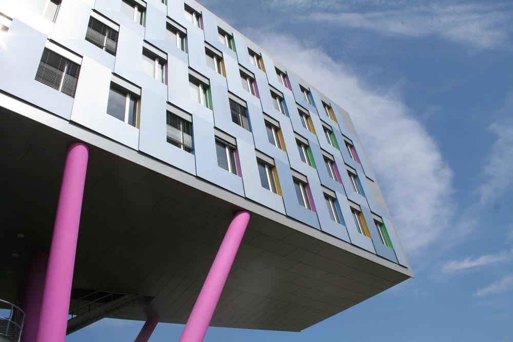 Teilansicht Landesbank BaWü in Karlsruhe