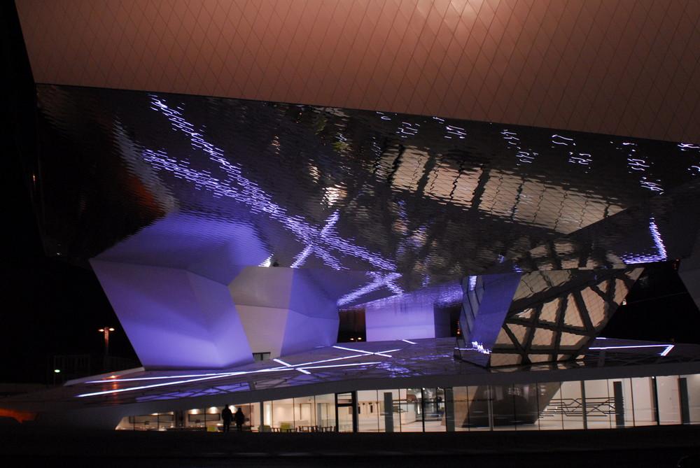 Teilansicht Neues Porschemuseum 1