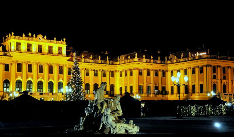 Teilansicht Schönbrunn Wien