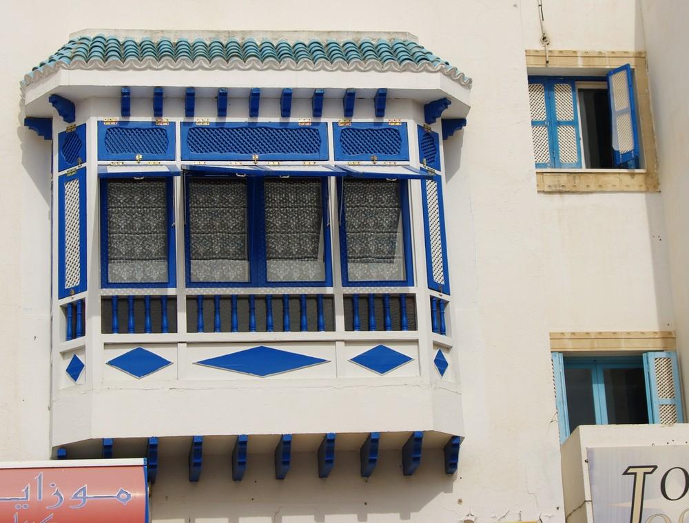 Teilansicht Wohnhaus von Habib Bourguiba