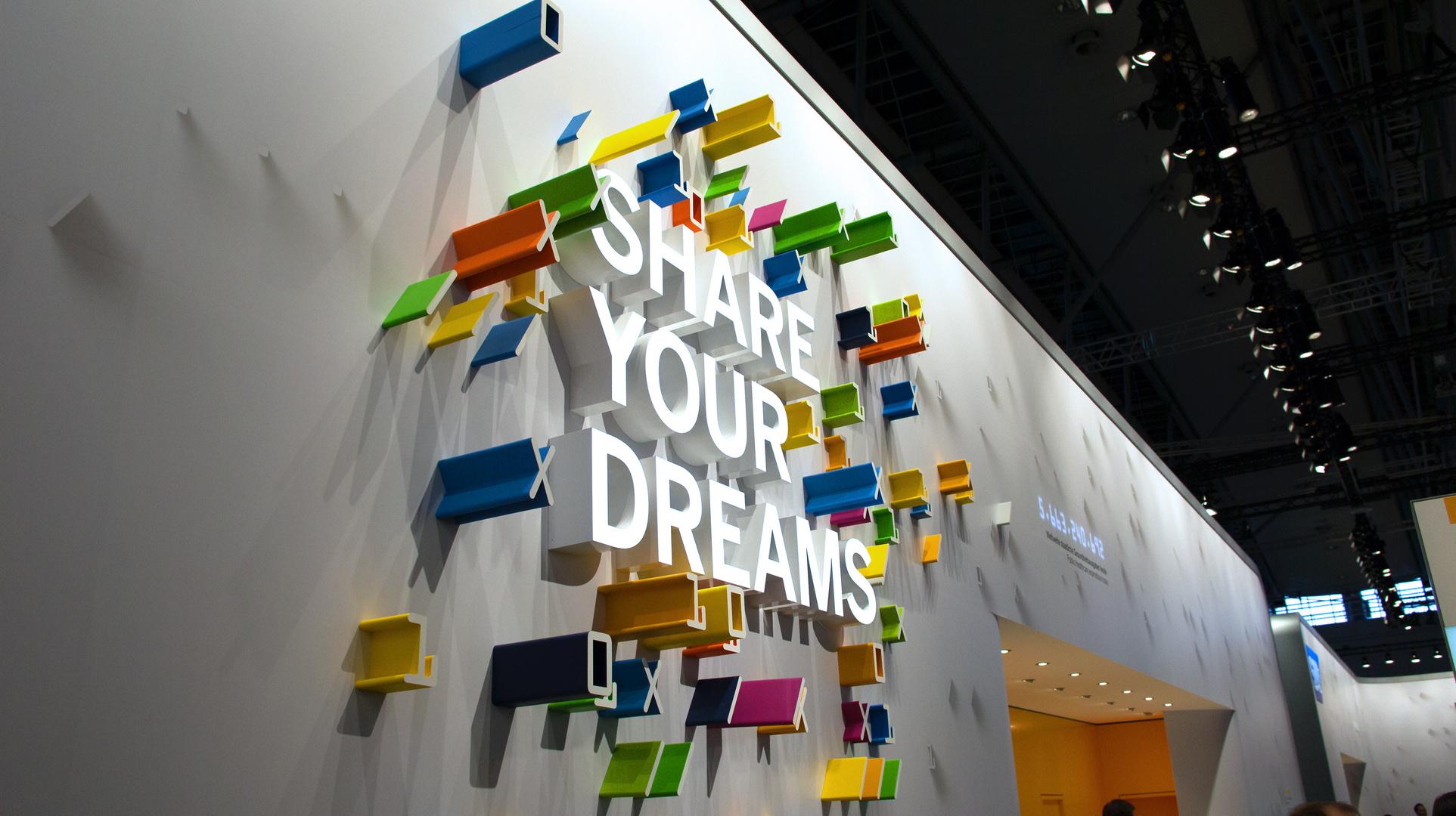 Teile deine Träume