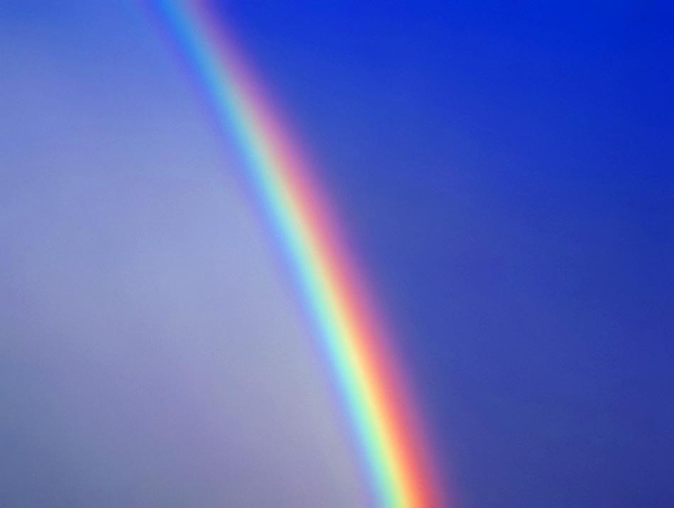 Teilender Regenbogen reloaded