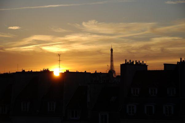Tejados de Paris