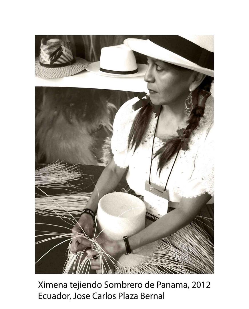 Tejedora de Sombreros
