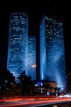 Tel Aviv - drei Türme des Azrieli Center