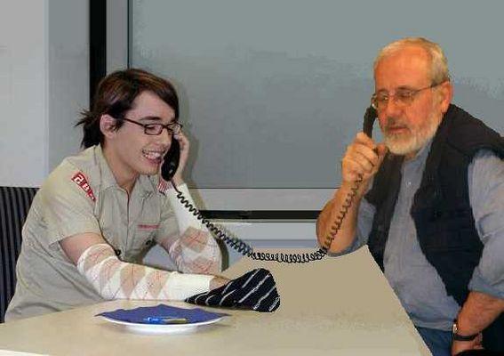 Telefon-Hotline