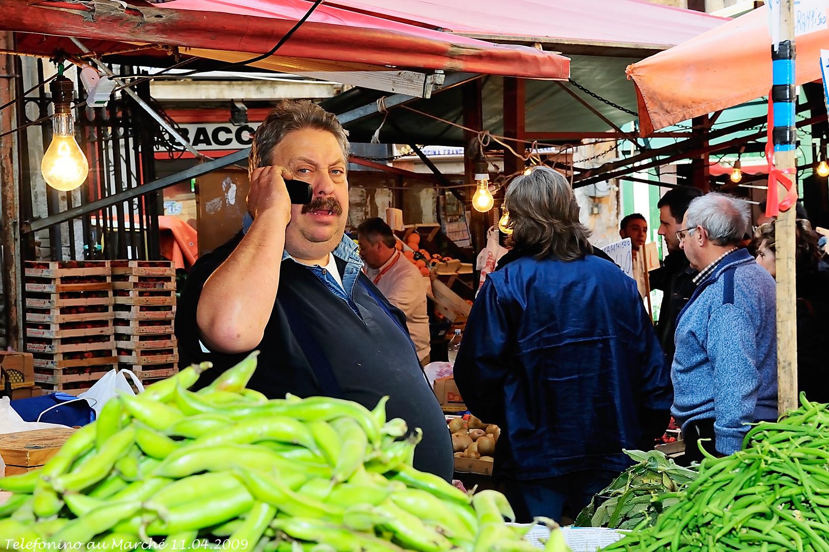 Telefonino au Marché (11.04.2009)