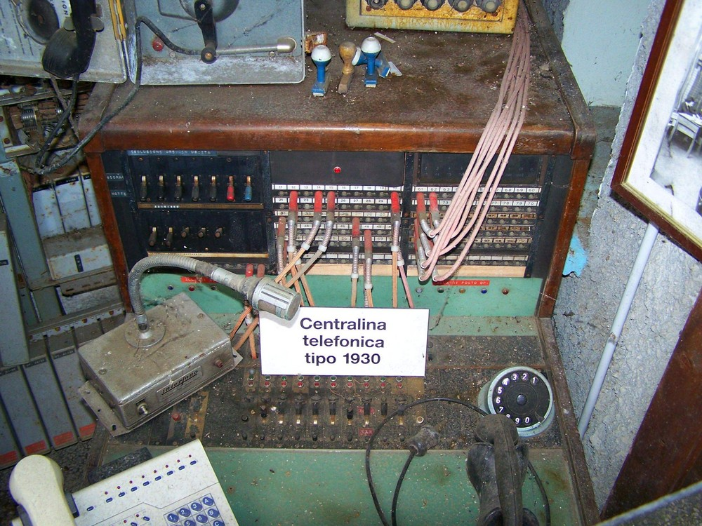 Telefonmuseum auf italienisch