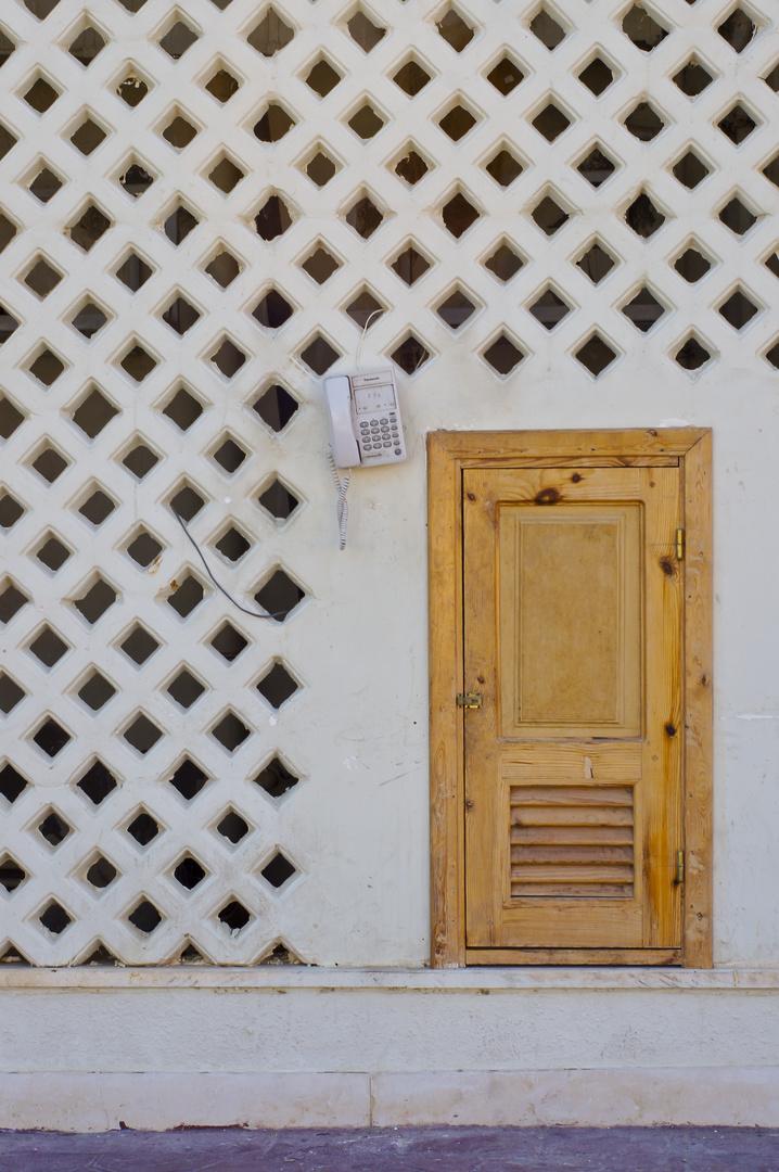 Telefonzelle auf ägyptisch