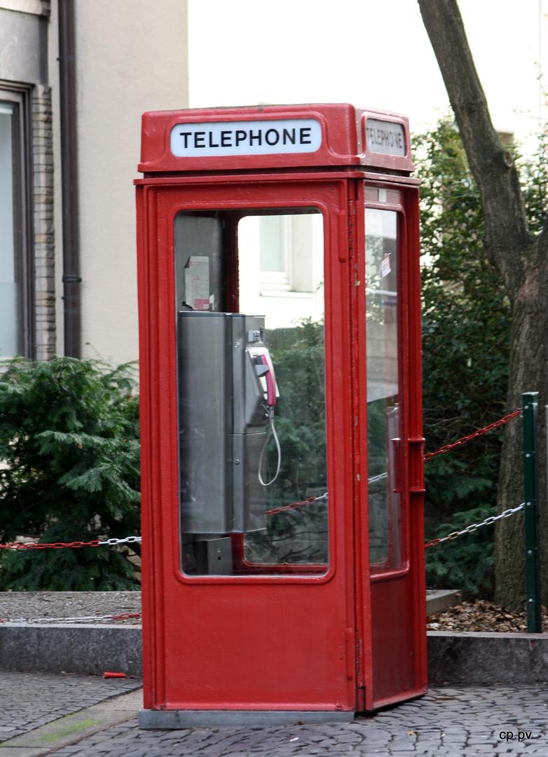 Telefonzelle in Hildesheim
