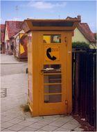 Telefonzelle in Karlsruhe (Grünwinkel) 1975