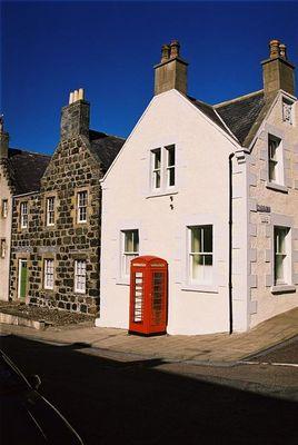 Telefonzelle in Portsoy