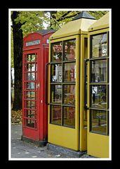 Telefonzellen am Maxplatz