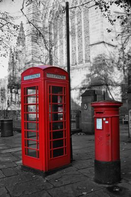 Telephonzelle in London