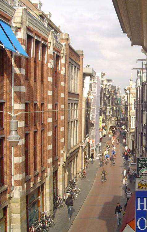 Teleskop Eye - Warmoestraat Redlight District Amsterdam II