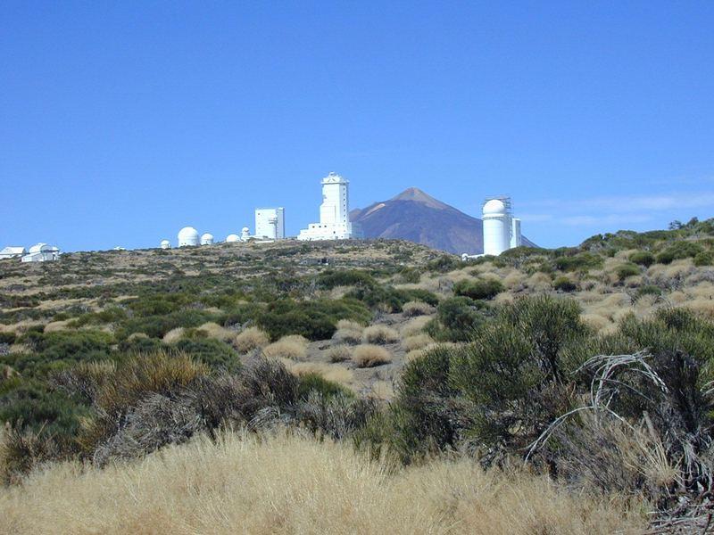 Teleskope auf Teneriffa